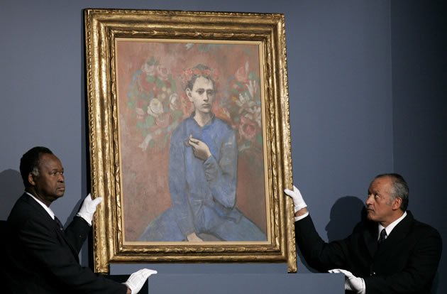 &amp;quot;Boy with a Pipe&amp;quot; by Pablo Picasso, sold for $104.2 million in 2004.