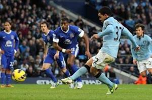 Manchester City 1-1 Everton: Champion forced to settle for point after Tevez equalizer