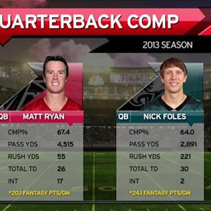 Better fantasy QB: Matt Ryan or Nick Foles?