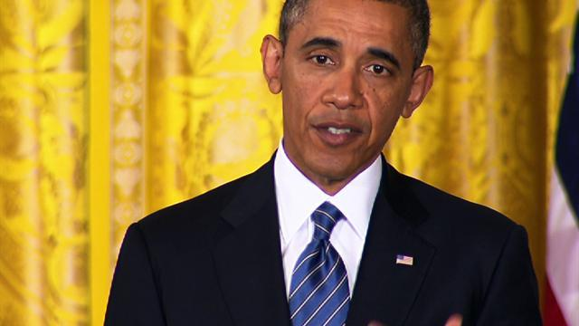 """Obama on sexual assault victims in the military: """"I've got their backs"""""""