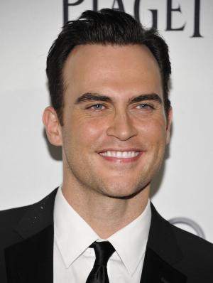 FILE - In this June 14, 2011 file photo, actor Cheyenne Jackson attends amfAR New York's Inspiration Gala celebrating Men's Style at the Museum of Modern Art in New York. Jackson will star in a new play by Oscar-winning screenwriter Dustin Lance Black about the legal battle over same-sex marriage in California. It will be performed as part of a fundraiser at the Eugene O'Neill Theatre for one night only on Sept. 19. (AP Photo/Evan Agostini, file)