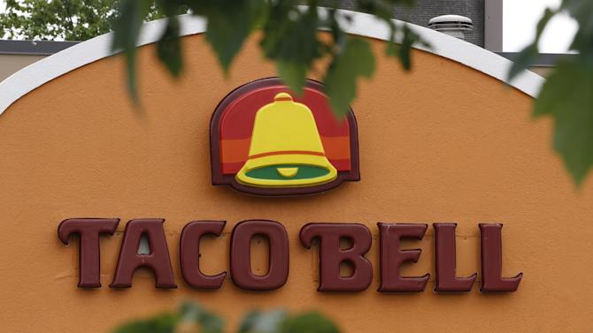 This Wednesday, June 6, 2012, photo shows a Taco Bell restaurant in Richmond, Va.   The chain said it plans an early July rollout of a menu addition created by celebrity chef Lorena Garcia for its nearly 5,600 U.S. restaurants. (AP Photo/Steve Helber)