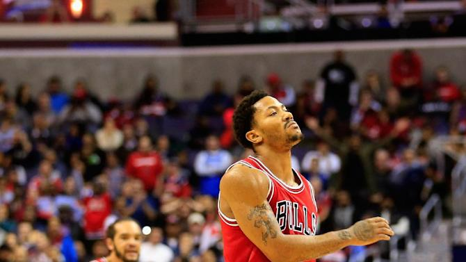 NBA - Rose leads Bulls over Wizards