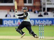 Ross Taylor helped New Zealand recover from a shaky start on Sunday