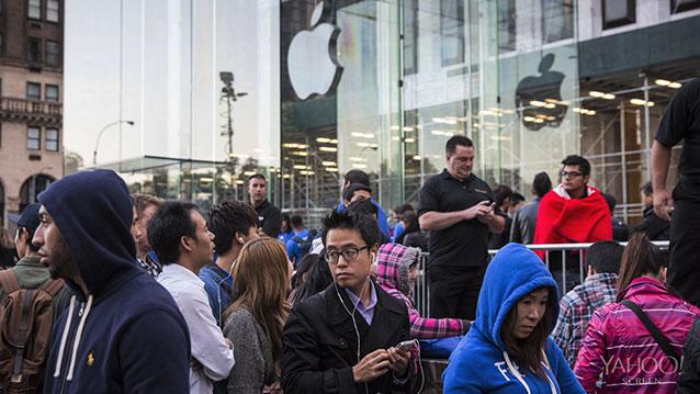 Apple iPhone Sales are Golden