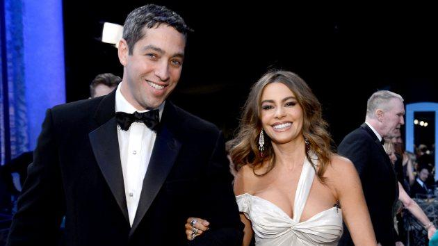 Nick Loeb and Sofia Vergara attend the 19th Annual Screen Actors Guild Awards at The Shrine Auditorium on January 27, 2013 in Los Angeles -- Getty Images