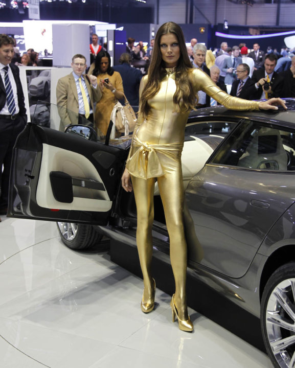 Auto show extras of the 2013 Geneva Motor Show