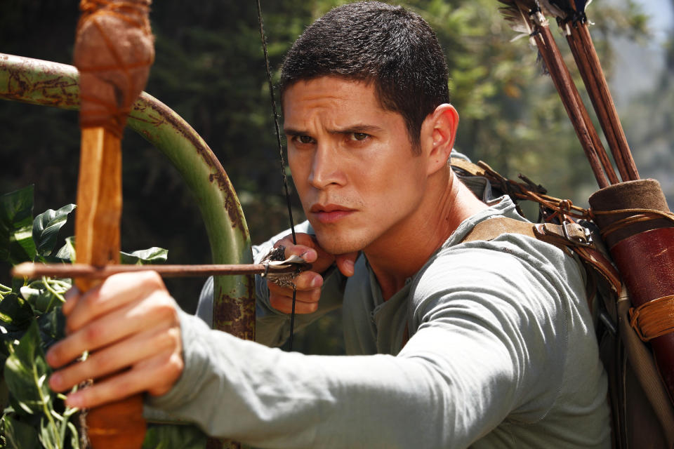 "This image released by NBC shows JD Pardo as Nate from the new series ""Revolution,"" premiering Sept. 17 at 10 p.m. EST on NBC. (AP Photo/NBC, Trae Patton)"