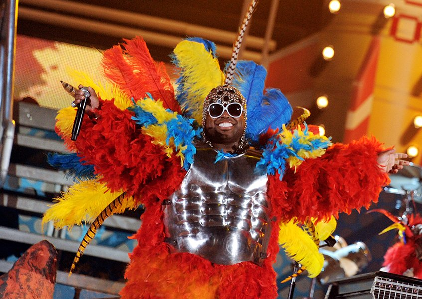 Cee Lo performing in 2011