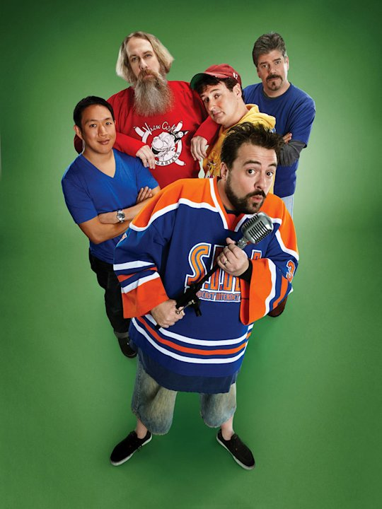 The cast of &quot;Comic Book Men.&quot; 