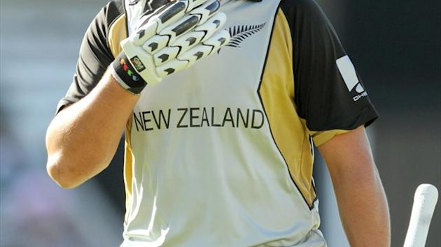 Ross Taylor, pictured, was dumped as New Zealand Test captain last week and replaced by Brendon McCullum