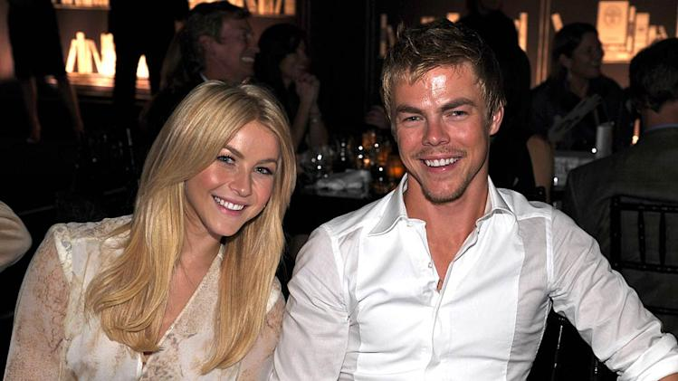 Julianne Derek Hough Bvlgari Evnt