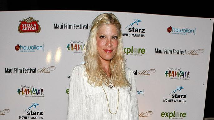 Tori Spelling attends the Taste of Chocolate during the 10th Annual Maui Film Festival at the Four Seasons Hotel on June 19, 2009 in Wailea, Hawaii.