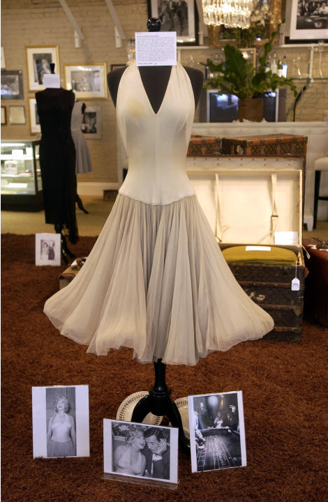 The dress Marilyn made famous with the help of a subway grate