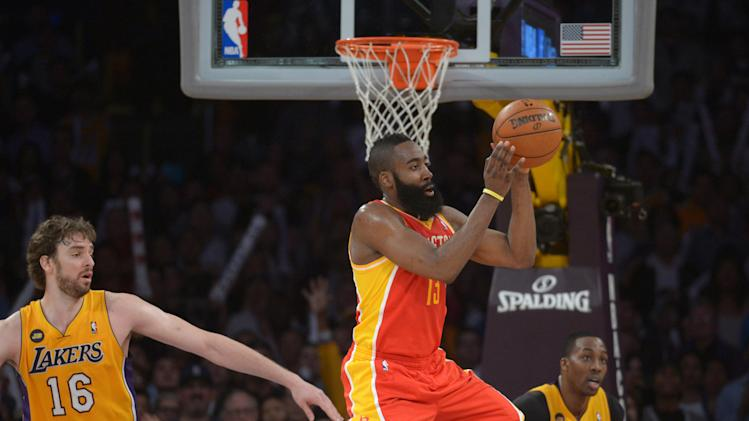 NBA: Houston Rockets at Los Angeles Lakers