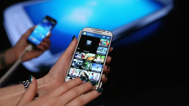 The Galaxy S4 didn't blink when overloaded with a video, taking a picture, using Facebook, and other apps.
