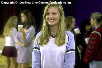Kirsten Dunst as Amber Atkins in Drop Dead Gorgeous