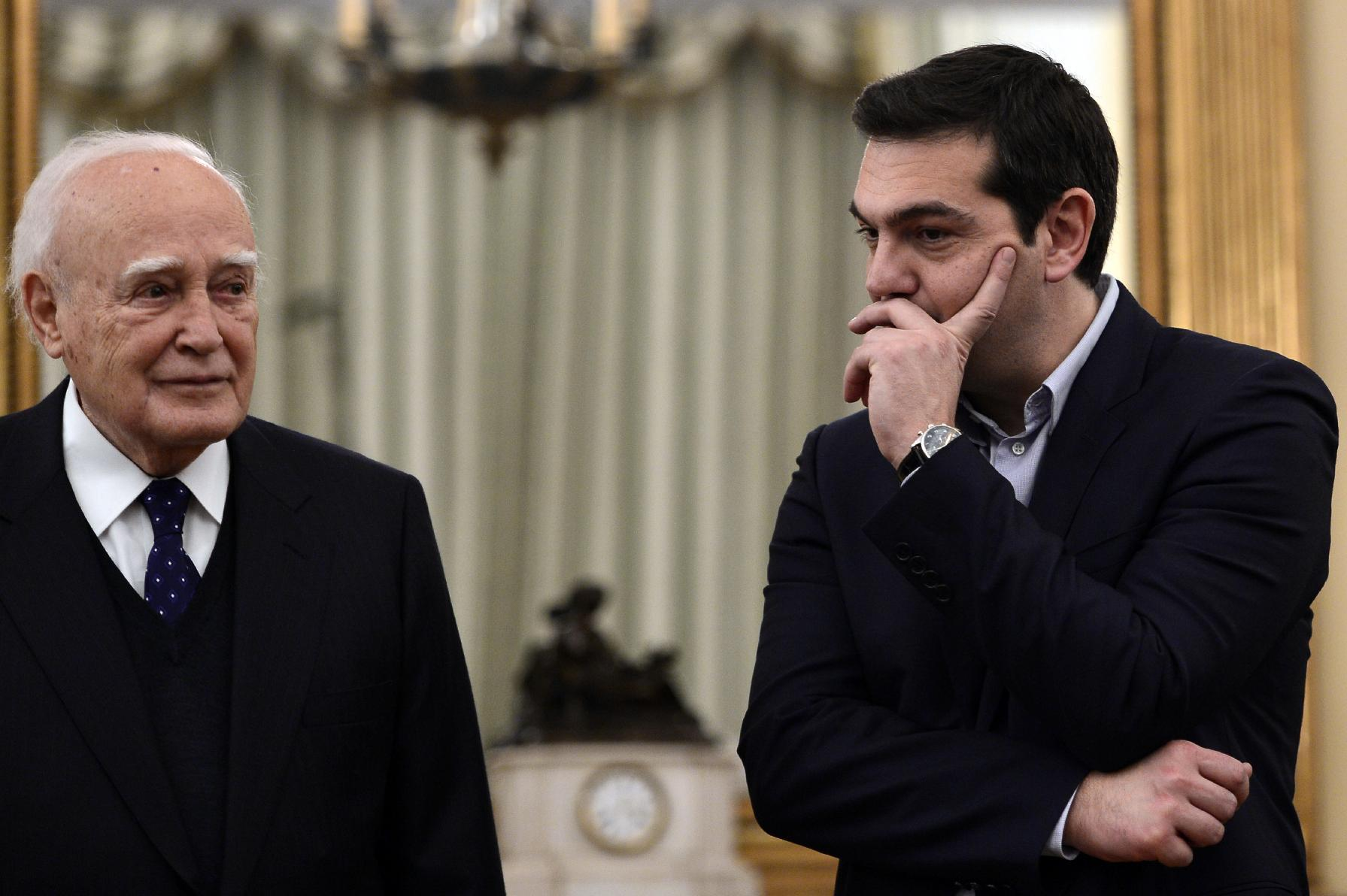 Greek cabinet set for first meeting since poll upset