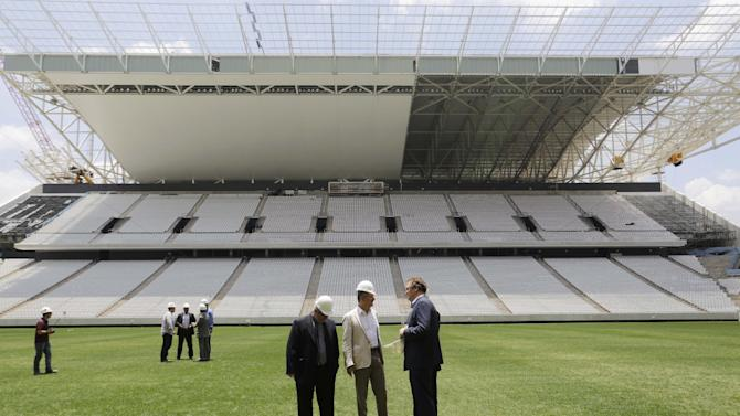 Brazil has 100 days left to get World Cup ready
