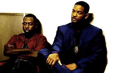 Martin Lawrence and Will Smith in Columbia's Bad Boys II
