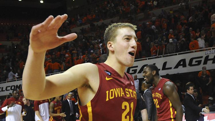 No. 16 Iowa St. beats No. 19 Oklahoma St. in 3OT