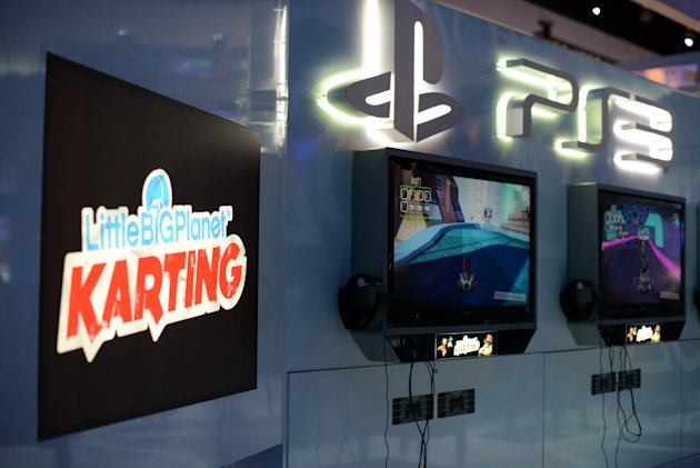 Games are displayed and available to play at the PlayStation booth at E3 on Tuesday, June 5, 2012 in Los Angeles. (Chris Weeks/AP Images for Sony Computer Entertainment America)
