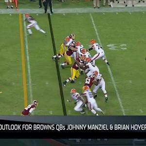 NFL NOW What Did We Learn: Brian Hoyer and Johnny Manziel