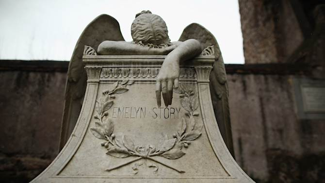 Rome's Non Catholic Cemetery, The Final Resting Place Of Poets Shelley And Keats