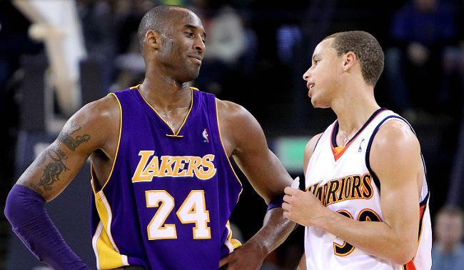 A Rookie Steph Curry Tried To Talk Trash To Kobe And Was Met With A Terrifying Mean Mug