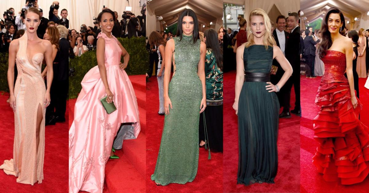 All The Looks From The 2015 Met Gala