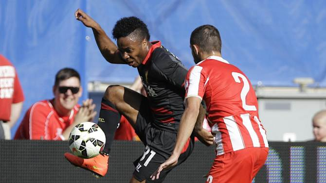Liverpool beats Olimpiakos 1-0 in Champions Cup