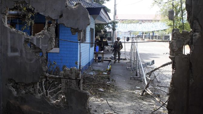Fighting erupts in southern Philippines