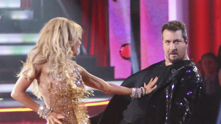 Kym Johnson and Joey Fatone (9/24/12)