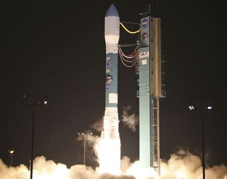 United Launch Alliance rocket launches from Vandenberg Air Force Base in California