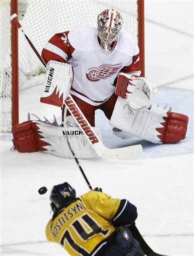 Predators advance, ousting Red Wings 4-1 in series