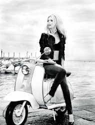 Claudia Schiffer in the latest Guess campaign