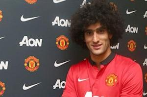 Fellaini sets title target for Manchester United
