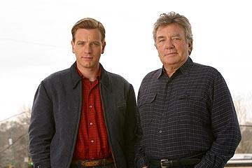 Ewan McGregor and Albert Finney in Columbia's Big Fish