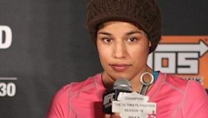 """Knee Injury to Julianna Peña Includes Several Tears; Dana White """"Disgusted"""" with Fighter's Gym"""