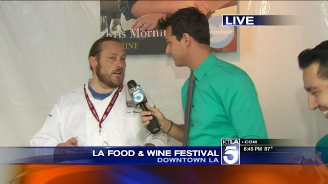 Fifth Annual Los Angeles Food and Wine Festival Preview with Chef Kris Morningstar from Terrine