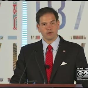 Rubio Visits Chicago For First Policy Speech In Bid For Presidency