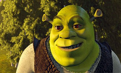 Shrek ( Mike Myers ) is an ornery ogre whose swamp has been overrun by an invasion of fairy-tale creatures in Dreamworks' Shrek