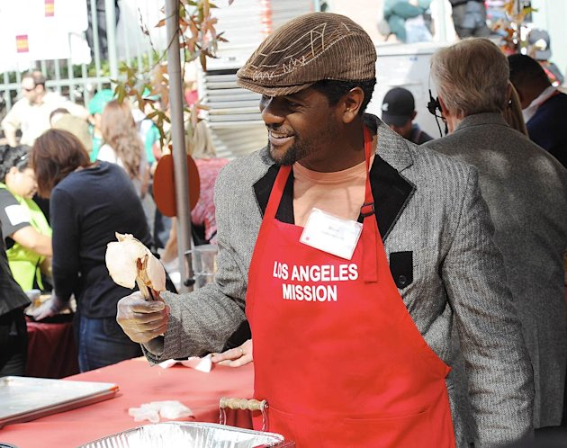 Blair Underwood Soup Kitchen