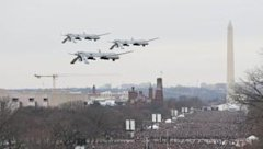 The Onion's fake photo shows drones flying over Obama's inauguration (The Onion)
