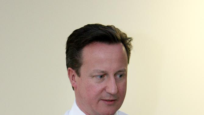 UK's Cameron: Scotland must snub independence
