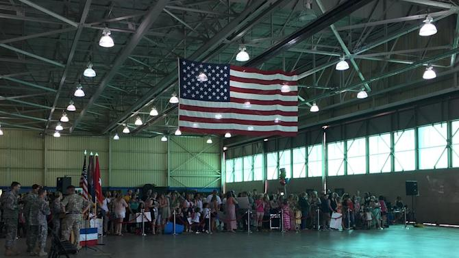 Last of 82nd Combat Aviation Brigade deployed troops return to Fort Bragg
