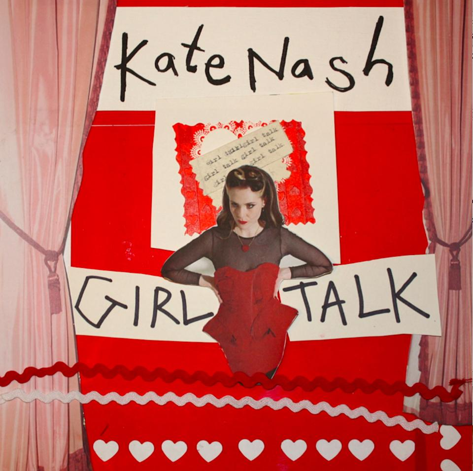 "This CD cover image released by Have 10p Records/Fontana shows ""Girl Talk,"" by Kate Nash. (AP Photo/Have 10p Records/Fontana)"