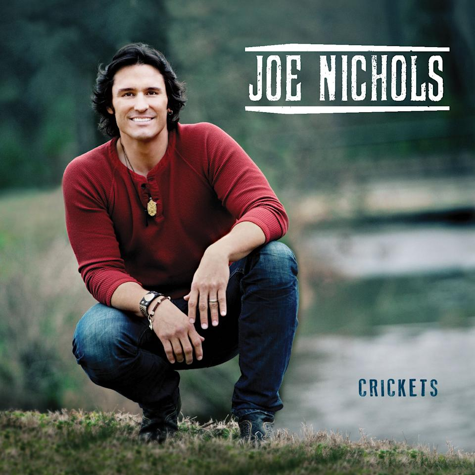 "This CD cover image released by Red Bow Records shows ""Crickets,"" a new release by Joe Nichols. (AP Photo/Red Bow Records)"
