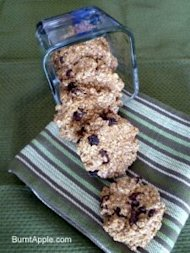 no bake, oatmeal raisin, cookie