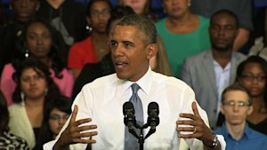 "Obama: Obamacare criticism ""just not based on fact …"